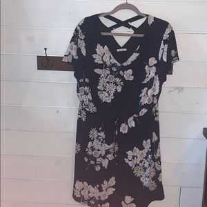 Maurice's floral dress